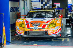 2014 Autobacs Super GT Royalty Free Stock Photo