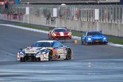 Autobacs Super GT 2017 Reeksen Stock Foto's