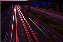 Autobahn Royalty Free Stock Images