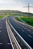 Autobahn Royalty Free Stock Photography