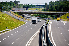 Autobahn royalty free stock photos