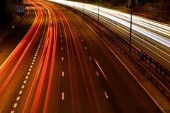 Autobahn stockfotos