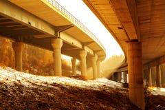 Autobahn imagen de archivo libre de regalías