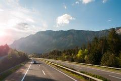 Autobahn Obrazy Stock
