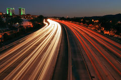 Autobahn 5 lizenzfreie stockfotos