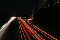 Autobahn A73 royaltyfri fotografi