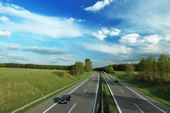 Autobahn Foto de Stock Royalty Free