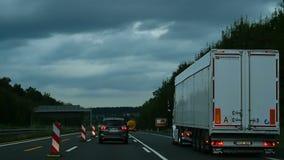 Autobahn cerca de Phorxheim metrajes