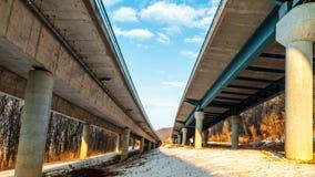 Autobahn del amor foto de archivo