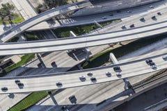 Autobahn erhöht Antenne Stockbild