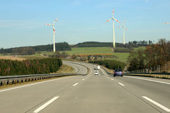 Autobahn in germany Stock Photo
