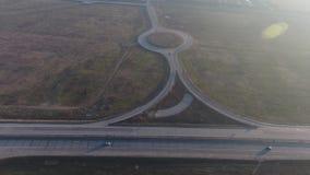 Autobahn gesehen von oben