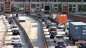Autobahn-/huvudvägtrafik