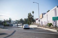 Autobahn 101 in Los Angeles Stockbilder