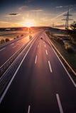 Autobahn Royalty Free Stock Photos