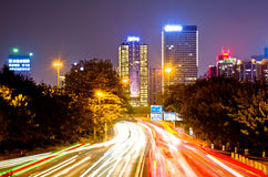 Night in Guangzhou. Royalty Free Stock Images