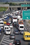 Autobahn Traffic. Otoban Trafik Car stock images