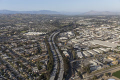 Autobahn Venturas 101 in Ventura California Stockbild