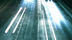 Autobahn-Verkehr Los Angeless 110 (HD) stock video footage