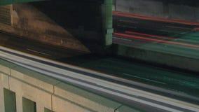 Autobahn-Verkehr Timelapse stock footage