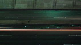 Autobahn-Verkehr Timelapse stock video footage