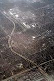 Autobahn-Verzweigung Stockbilder
