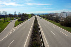 Autobahn Royalty Free Stock Photo
