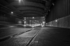 Autobahnmotorvägtunnel Arkivbilder
