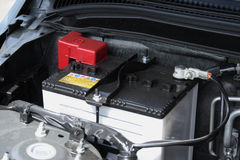 Autobatterie lizenzfreies stockbild