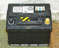 Autobatterie stockbilder