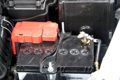 Autobatterij royalty-vrije stock foto's
