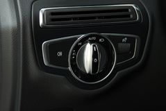 Autobeleuchtungsschalter Lizenzfreies Stockbild