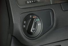 Autobeleuchtungsschalter Lizenzfreies Stockfoto