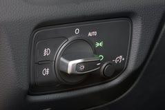 Autobeleuchtungsschalter Stockbilder