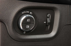 Autobeleuchtungsschalter Stockfotos