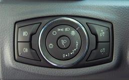 Autobeleuchtungsschalter Lizenzfreie Stockfotografie
