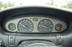 Autobeschleunigung Lizenzfreie Stockbilder