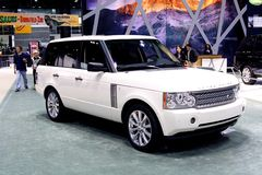 Autobiographie de Range Rover Photo libre de droits