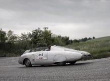 AUTOBLEU type Mille Miglia 1954 Stock Fotografie