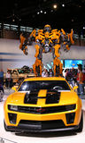 autobot baserde humlacamar heroiska chevrolet Royaltyfri Foto