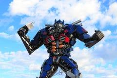 Autobot en la acción Foto de archivo libre de regalías