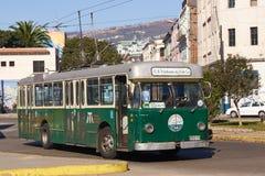Autobús de carretilla Foto de archivo libre de regalías