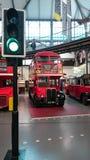 Autobús de dos pisos clásico de Londres Foto de archivo