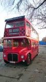 Autobús de dos pisos viejo de Londres Imagen de archivo libre de regalías
