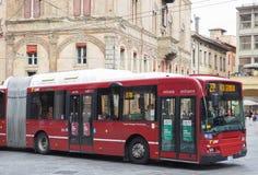 Autobus à Bologna image stock