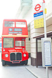 Autobus à impériale Image libre de droits