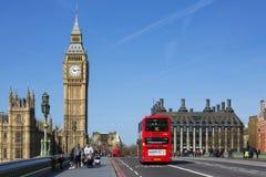 Autobus à impériale Photo libre de droits