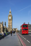 Autobus à impériale, Londres Image stock