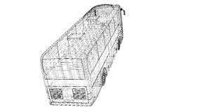 Autobus Royalty-vrije Stock Foto