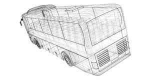 Autobus Royalty-vrije Stock Foto's